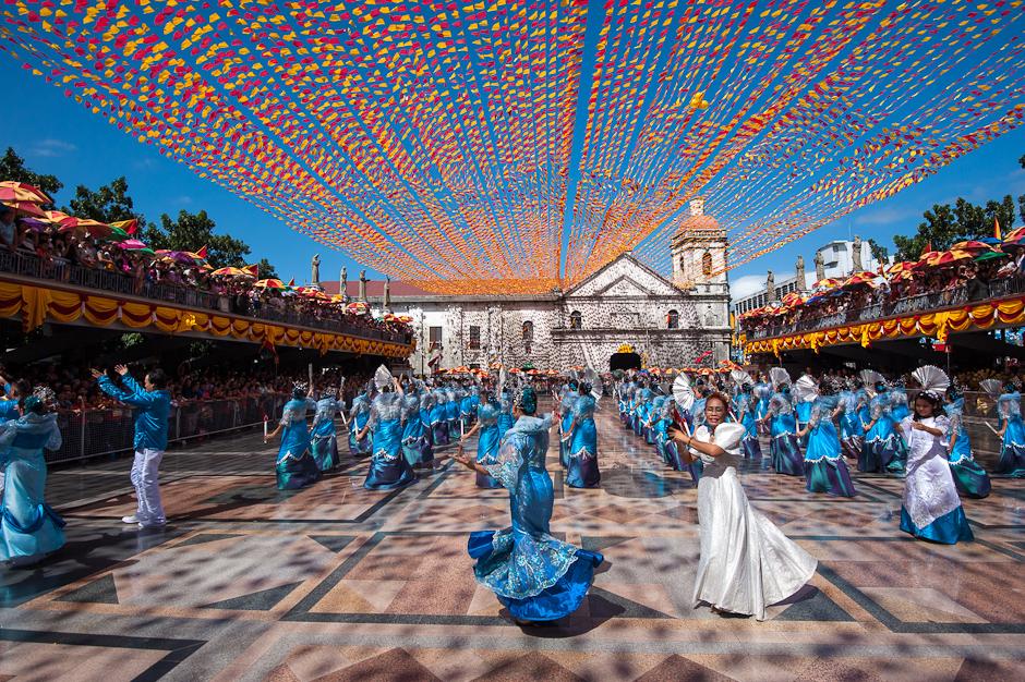 Dancing at Basilica