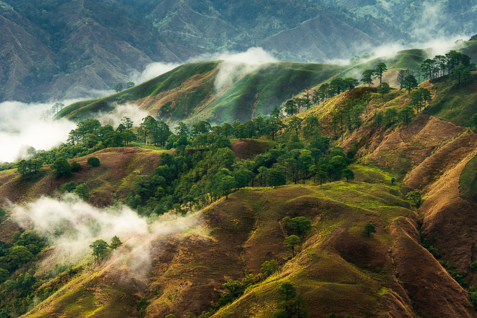 Cordillera Mountains in Luzon