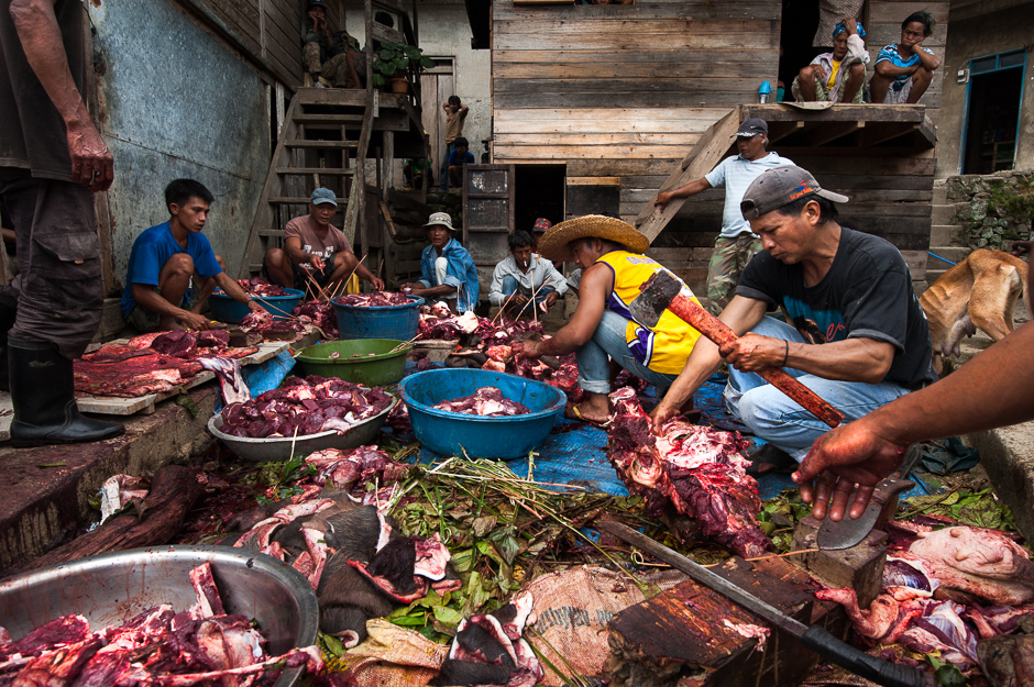 Carabao meat for a pusipus ritual