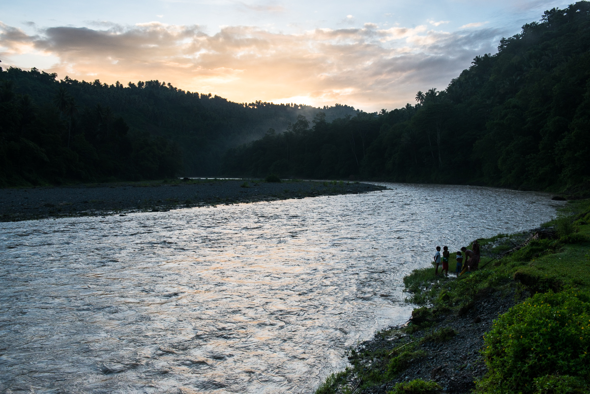 Compostela valley river