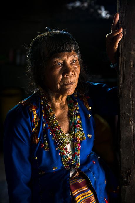 Elder Mansaka Woman (Bia)